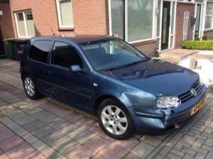 Auto sloop Breda kleine schade