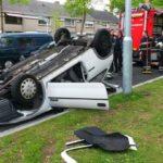 Auto sloop Eindhoven ongeval woonwijk