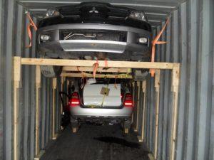 Auto voor export verkopen