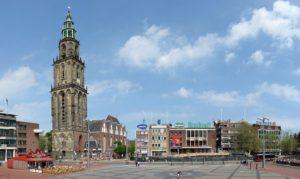 Autosloop ophaaldienst Martinitoren Groningen